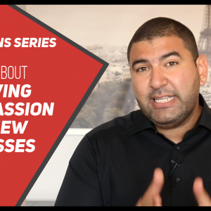 The Truth About Following Your Passion & Why do New Businesses Fail